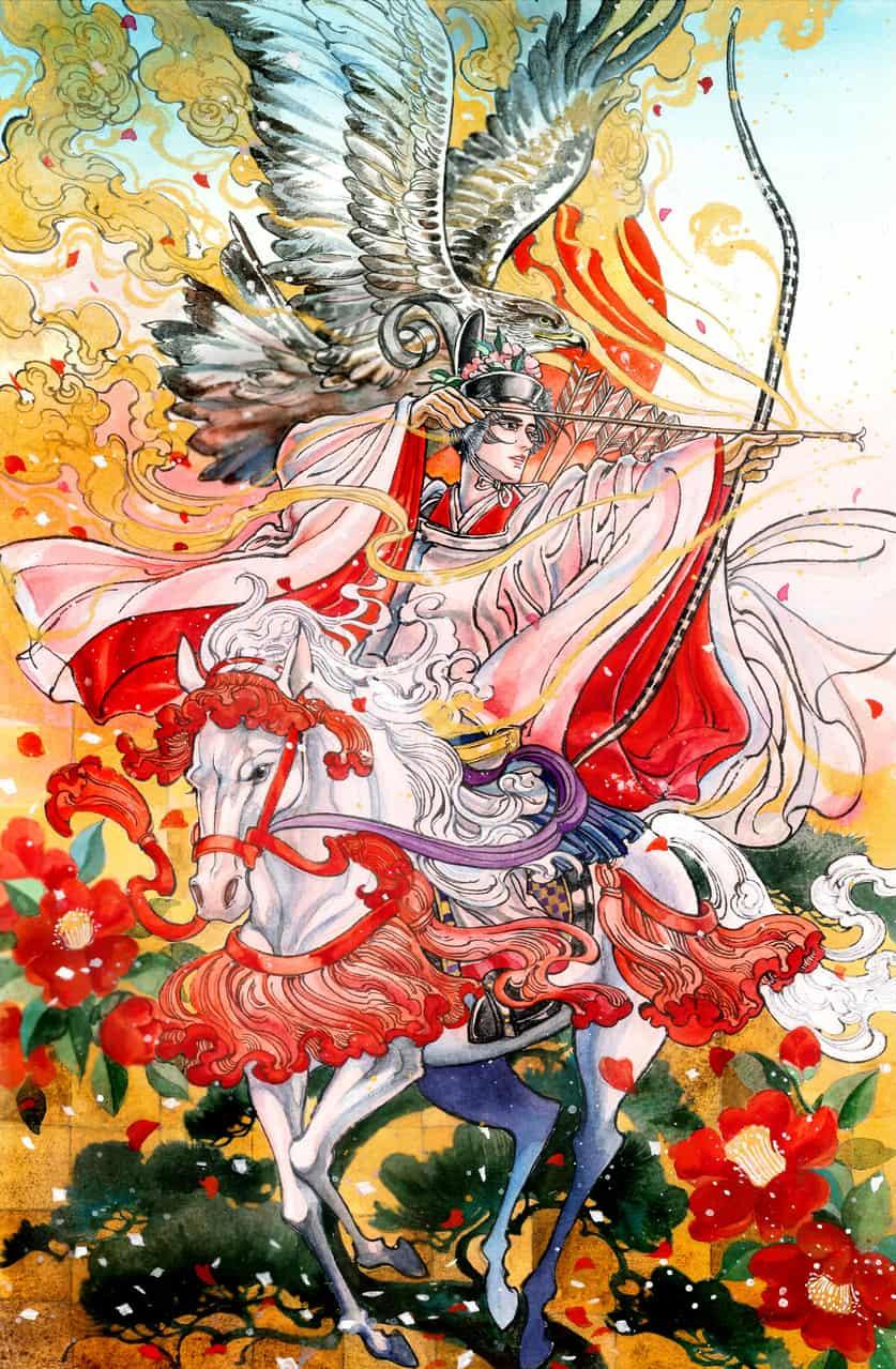流鏑馬 Illust of 蛤蜊 Kyoto_Award2020_illustration Horse kimono 流鏑馬 boy