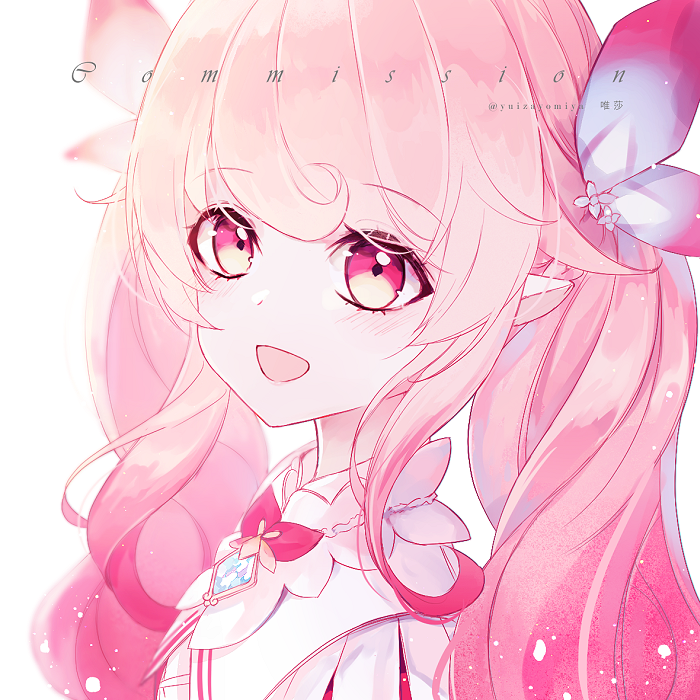 Laby Illust of 唯莎 ELSWORD pink Laby 艾爾之光 ラビィ