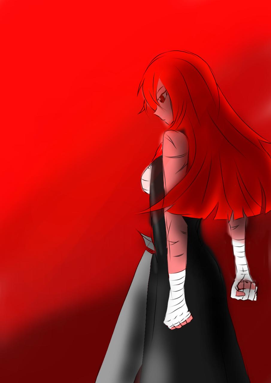 Crimson Illust of johvan118 February2021_Fantasy
