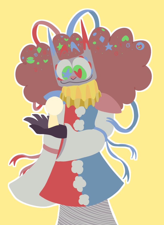 ooo dang klown Illust of Loobydoo Poppycock medibangpaint Clown