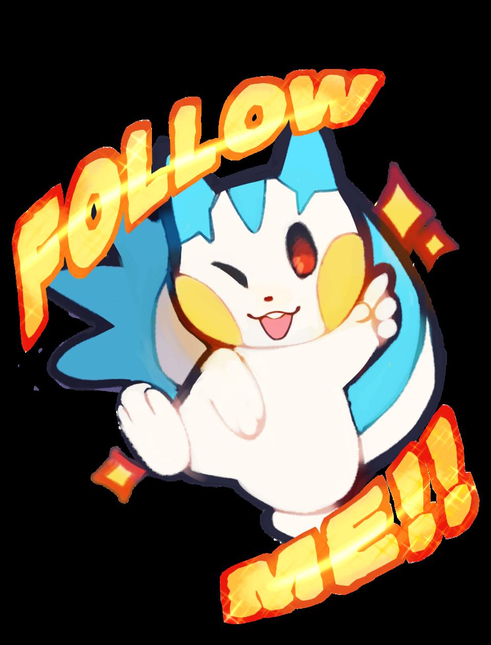 Pachirisu used Follow Me! Illust of 新芽 medibangpaint fanart pokemom cute