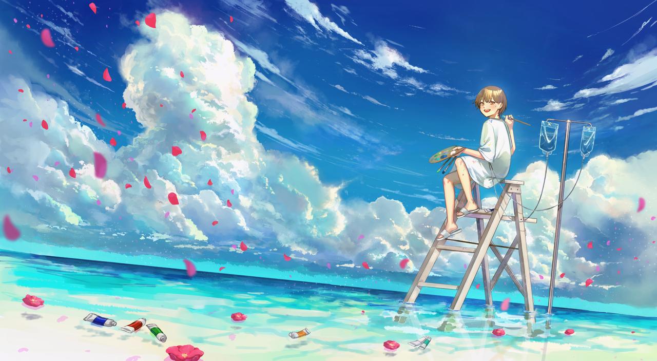 少年と海と/ありおか