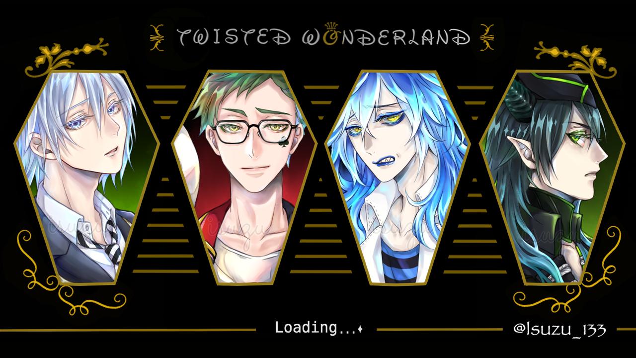 ツイステッドワンダーランド Illust of いすゞ TreyClover IdiaShroud 学園長 MalleusDraconia Twisted-Wonderland ディア・クロウリー Silver(Twisted-Wonderland)