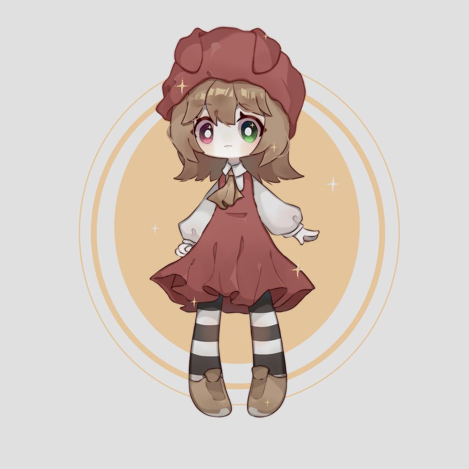某个无偿 Illust of 蝻尔 medibangpaint painting girl