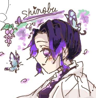 絵チャ Illust of Kaede0118* Whereabouts art* KochouShinobu oc KimetsunoYaiba