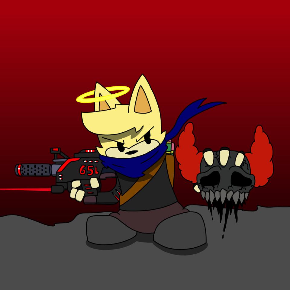 Madness Combat Illust of Gaming Doge Expurgation medibangpaint MadnessCombat
