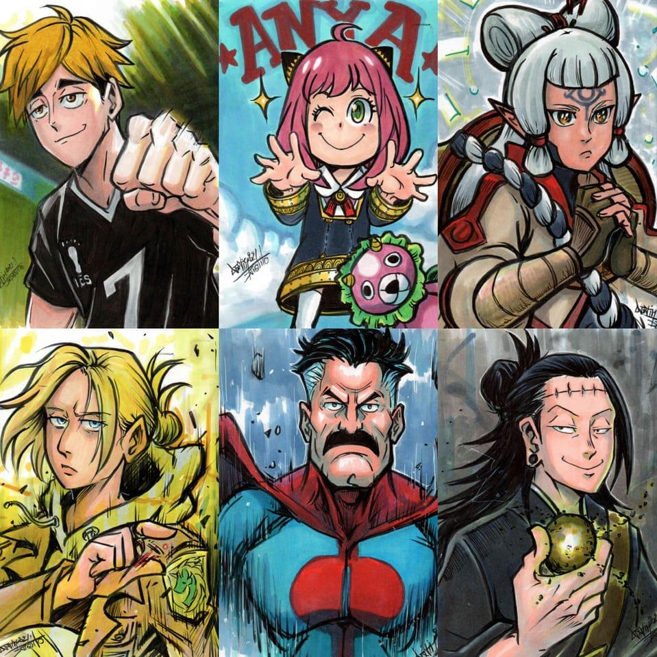 Fanart compilation 2 Illust of Djiguito hyrulewarrior Haikyu!! Djiguito SPY×FAMILY shingekinokiojin Zelda haikyuutothetop JujutsuKaisen