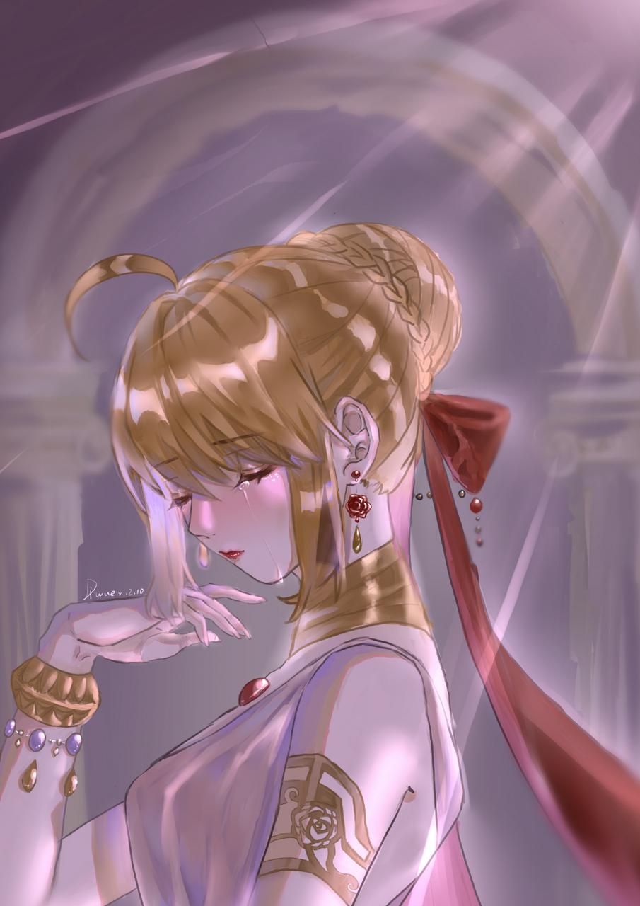 尼禄 Illust of Diwuer medibangpaint 板绘 Fate/GrandOrder Fate 尼禄