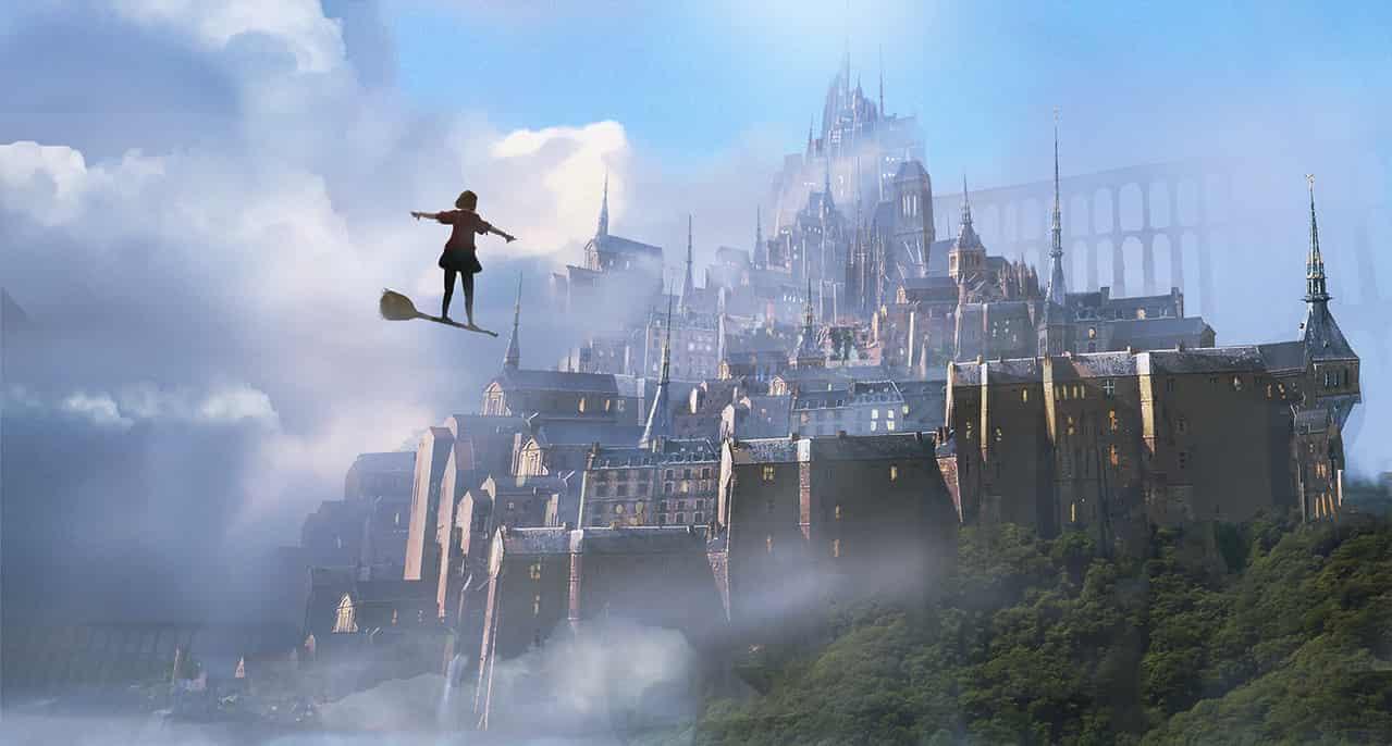 城 Illust of けーかく fantasy background