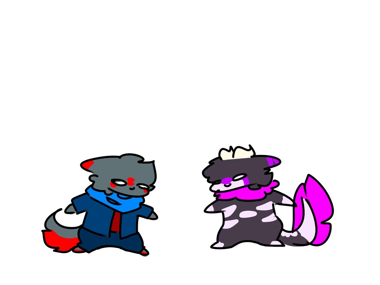 Bonk Illust of GhostTheBeast (Logan mode) Bonk