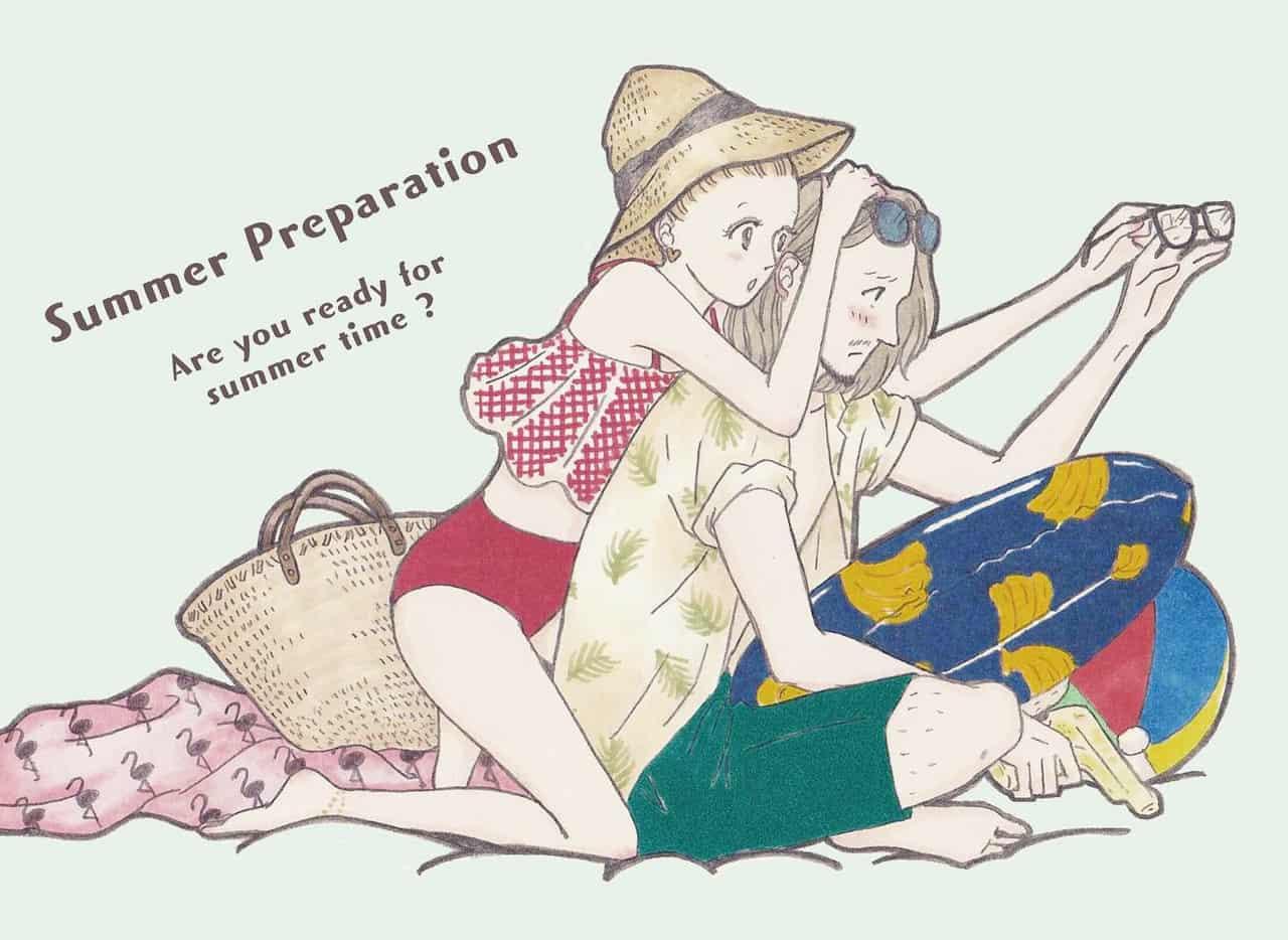 夏の準備🌞