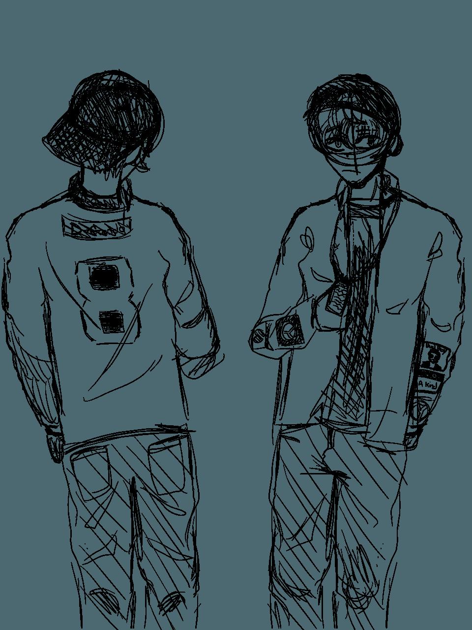 Rough sketch/ wip Illust of Dekuchan_336(crazy mode?) medibangpaint