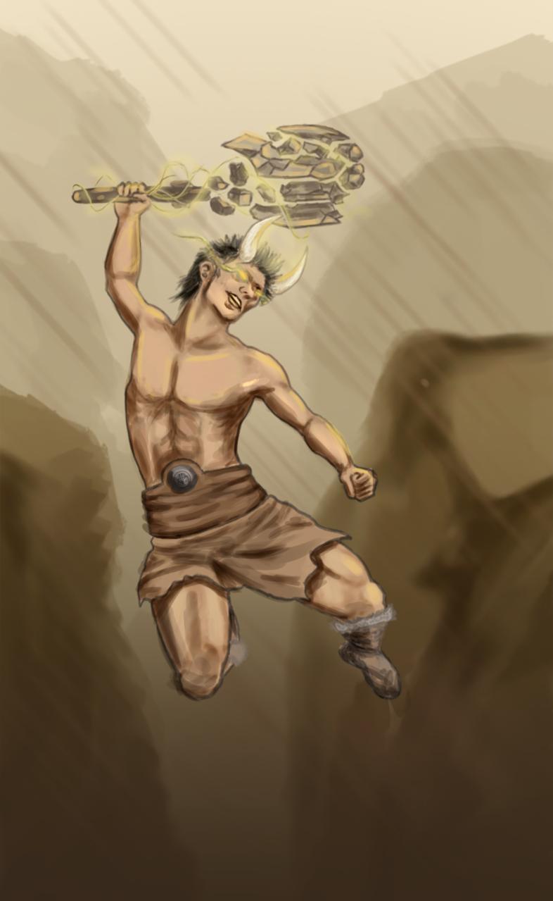 Magic Warriors  Illust of Torpach fantasy February2021_Fantasy digital Warriors medibangpaint