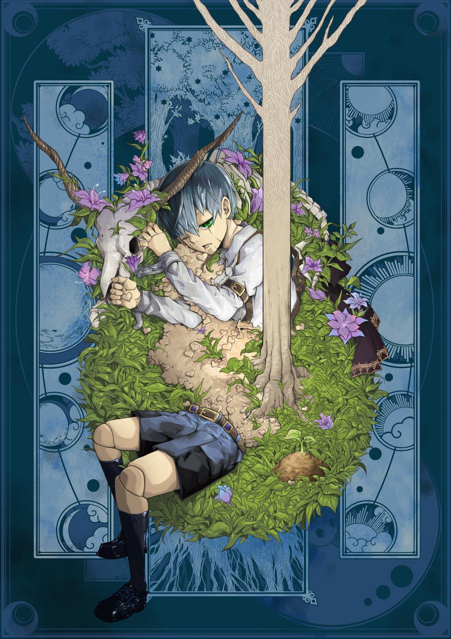 growing Illust of 銀甫 2ndMCPOillustration plants sun&moon