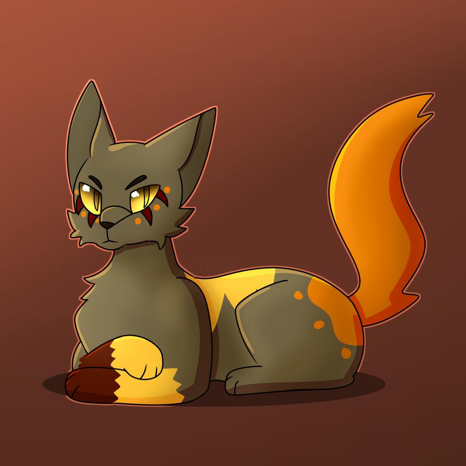 Fallfur Cat boi-