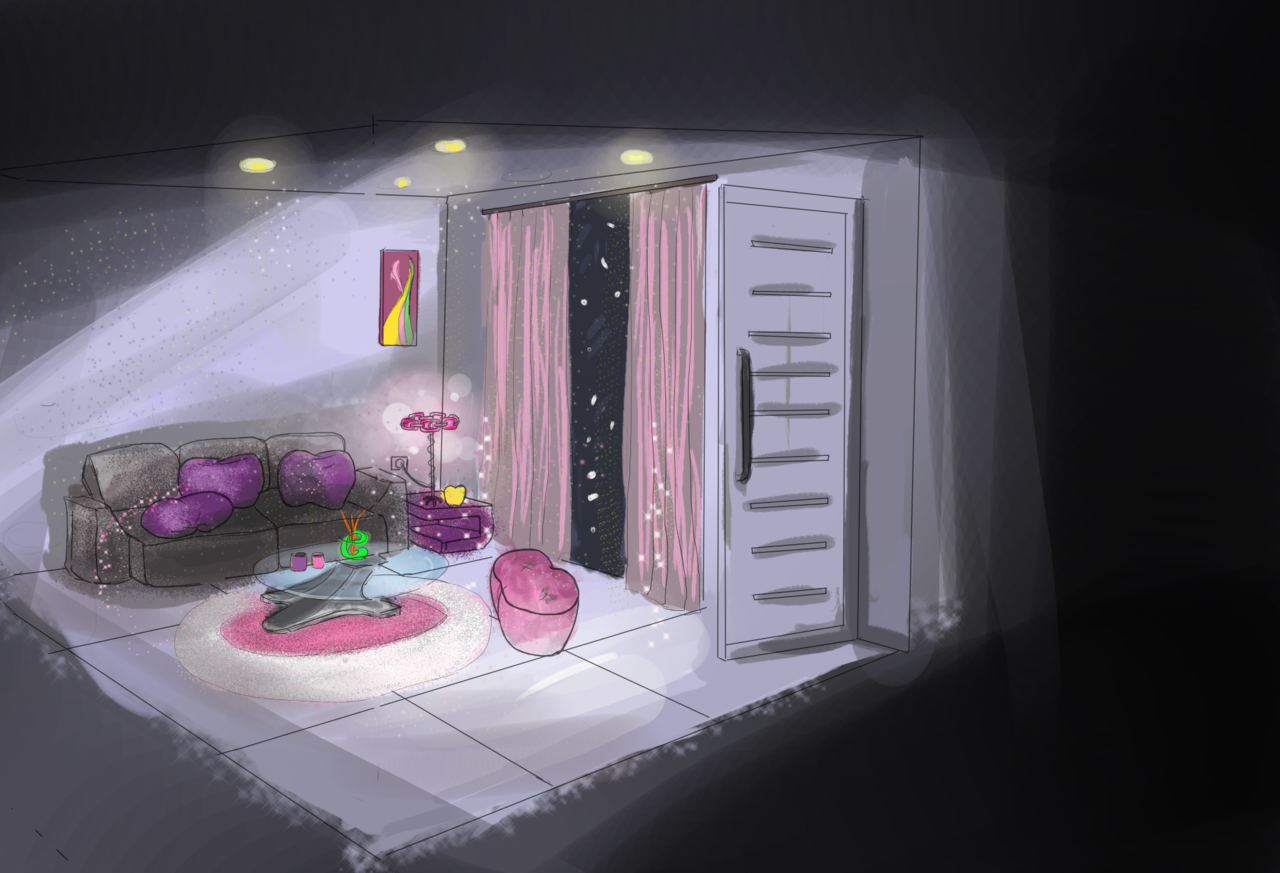 Teeth Interior Concept  Illust of Andinatz medibangpaint iPad_raffle