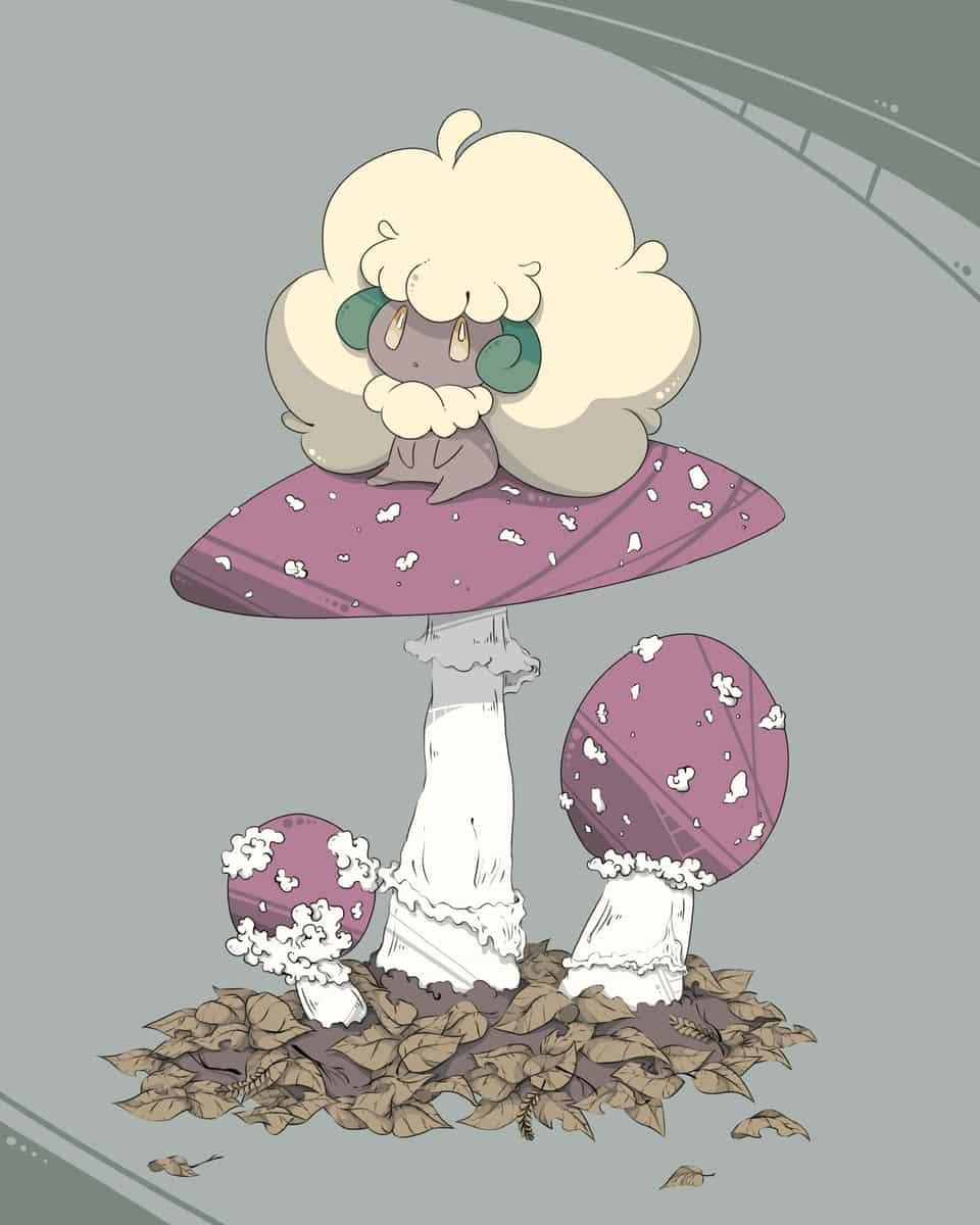 エルフーン Illust of 彩平 エルフーン きのこ pokemon