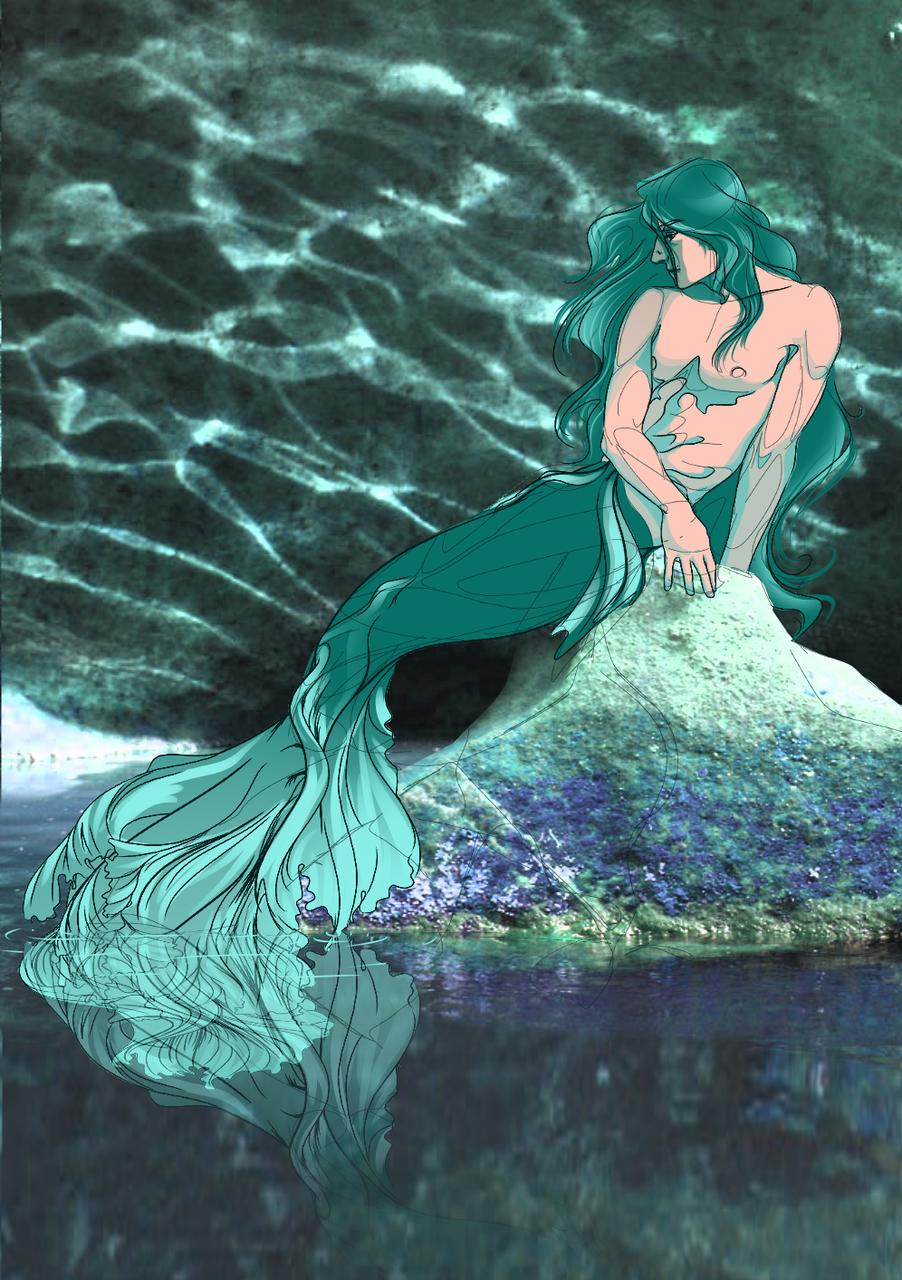 Siren 1 Illust of Isabel fantasy ArtToPaper2017 medibangpaint original ArtToPaper siren art mermaid
