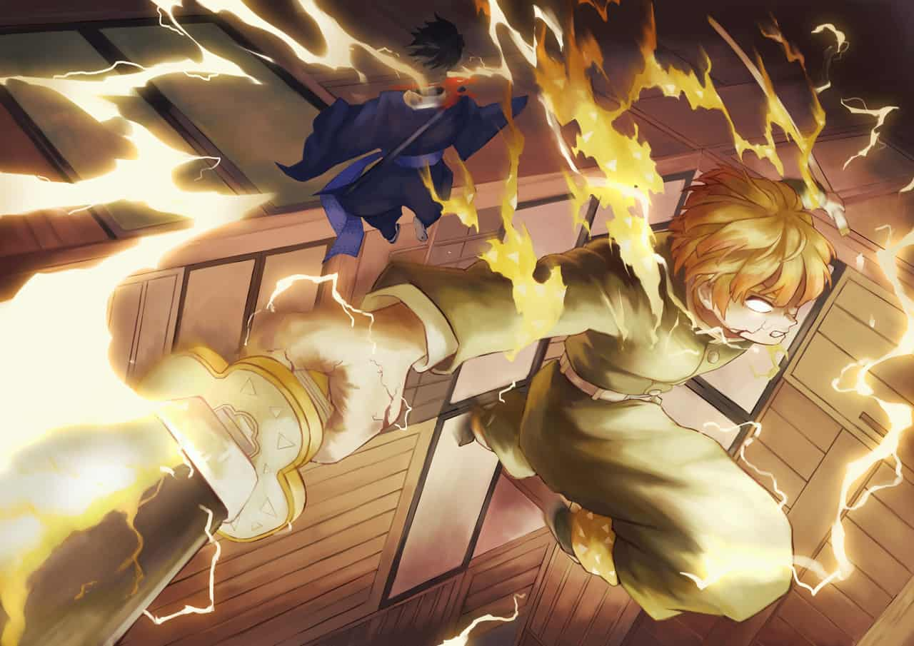 火雷神 Illust of Ricky DemonSlayerFanartContest KimetsunoYaiba AgatsumaZenitsu