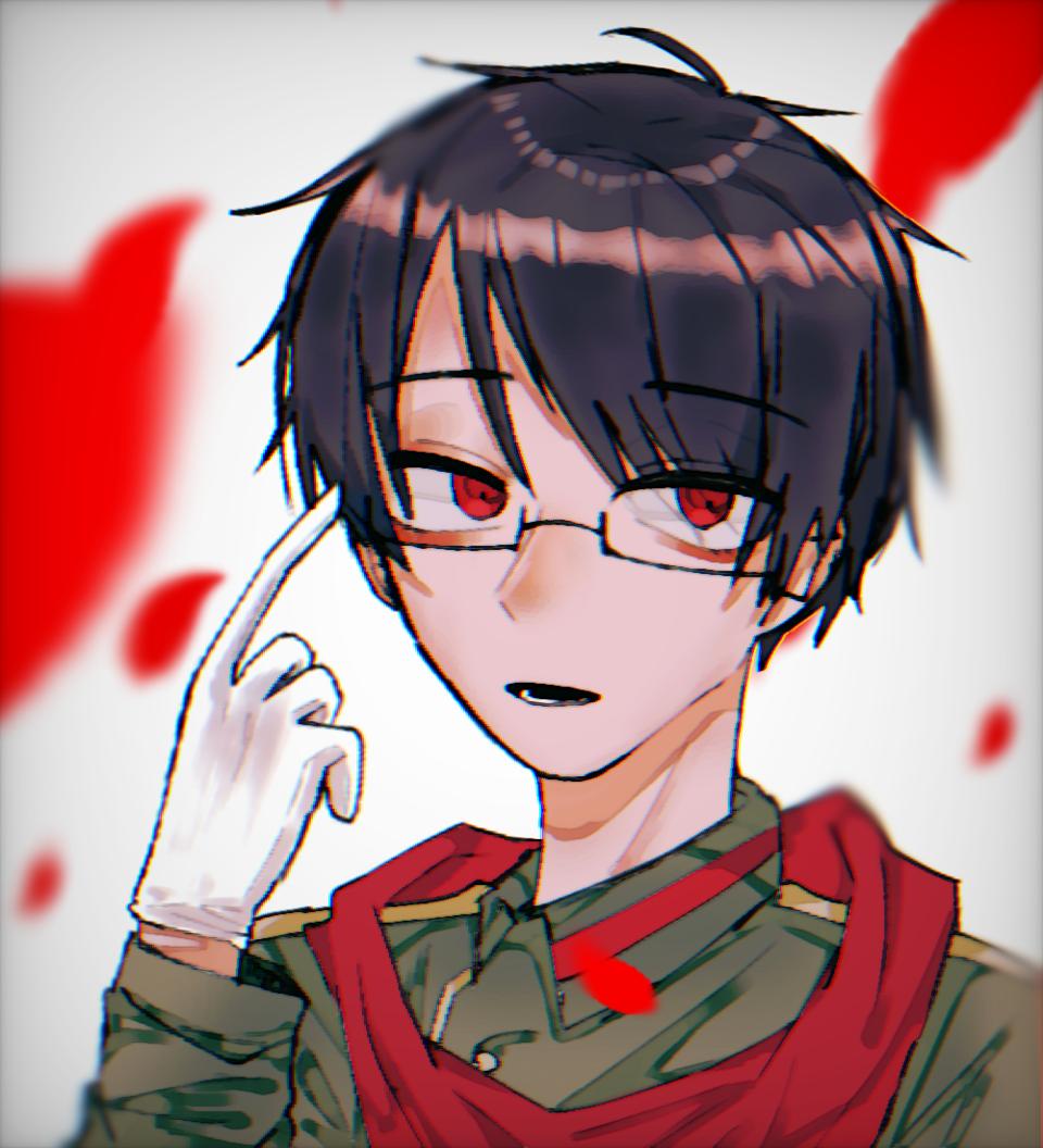 (  ◜ ͜  ◝  ) Illust of けばぶ#田舎同盟 トントン red ○○の主役は我々だ! 加工