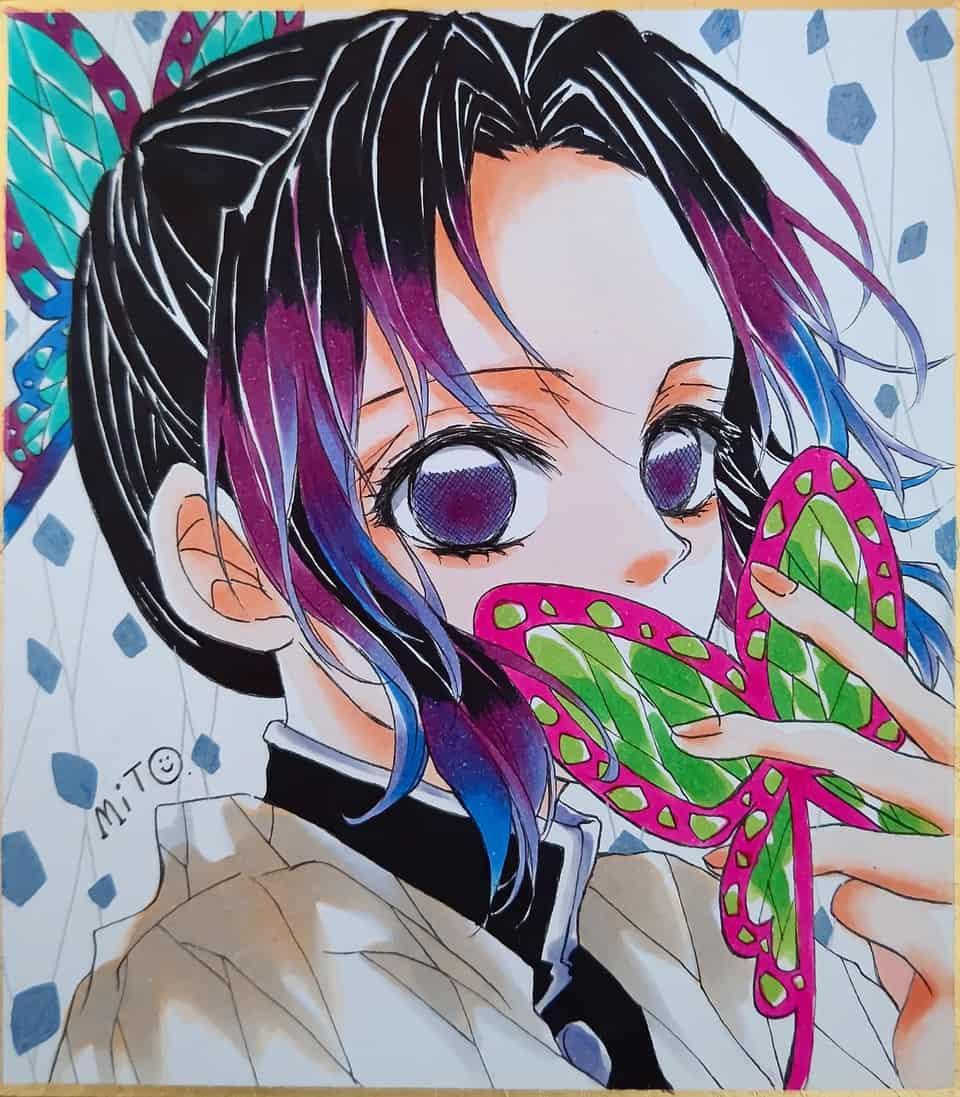信じる。 Illust of ミト コピックイラスト KimetsunoYaiba KochouShinobu
