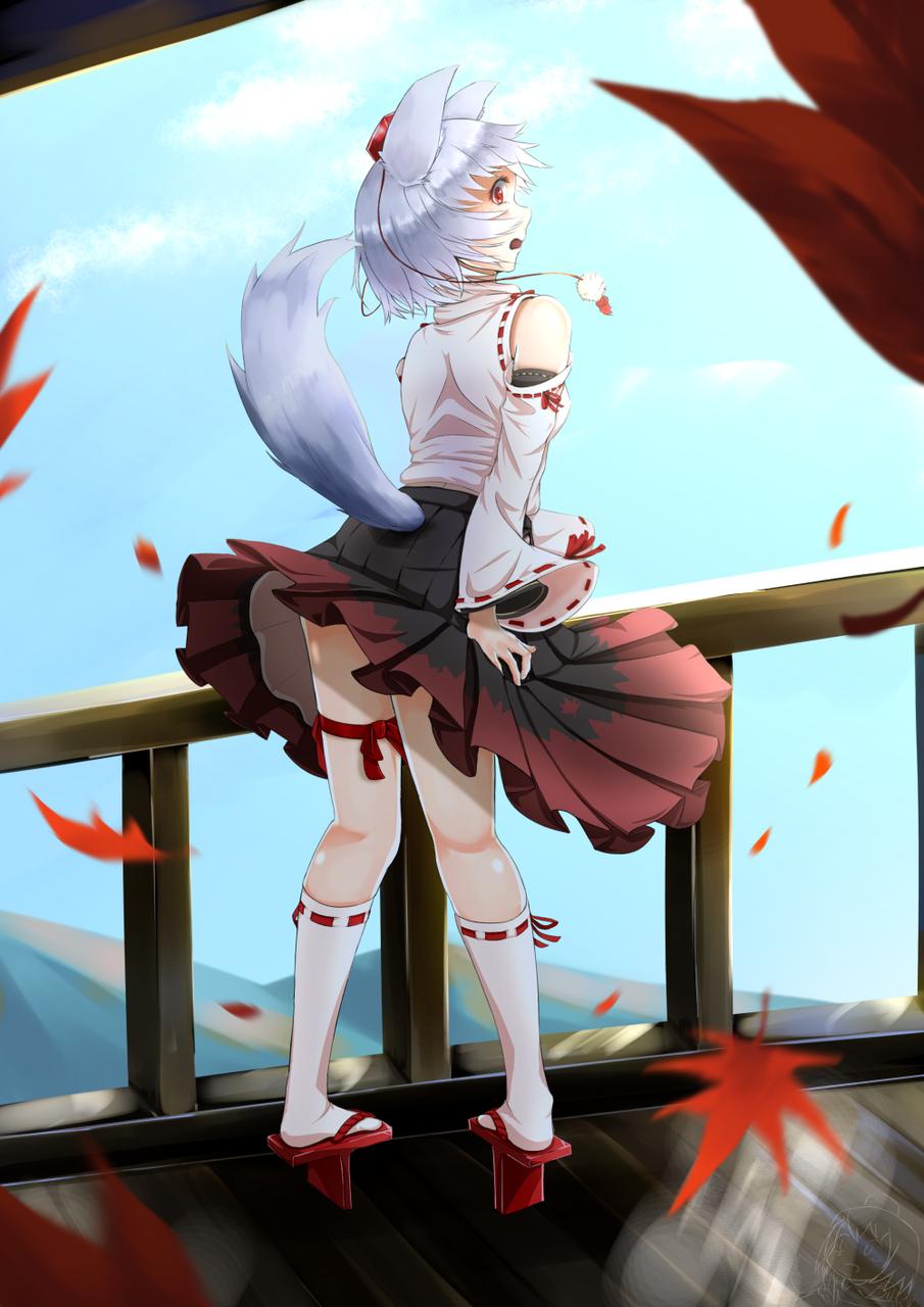 椛 Illust of HARa Touhou_Project 犬走椛