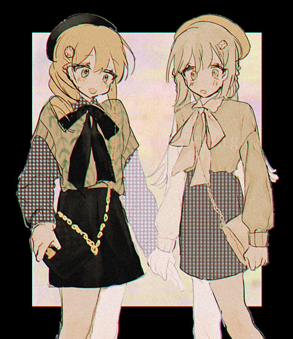 . Illust of 벼리 小女