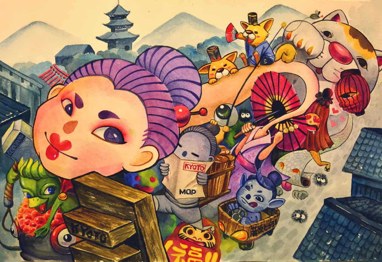 Summer Monster party in KYOTO