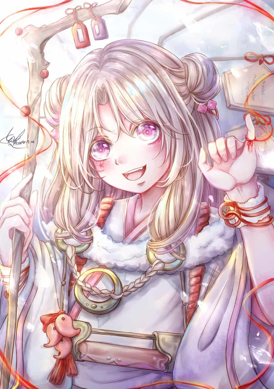 與君結緣 Illust of 幻祈 fanart fanfic Onmyouji girl 陰陽師Onmyoji