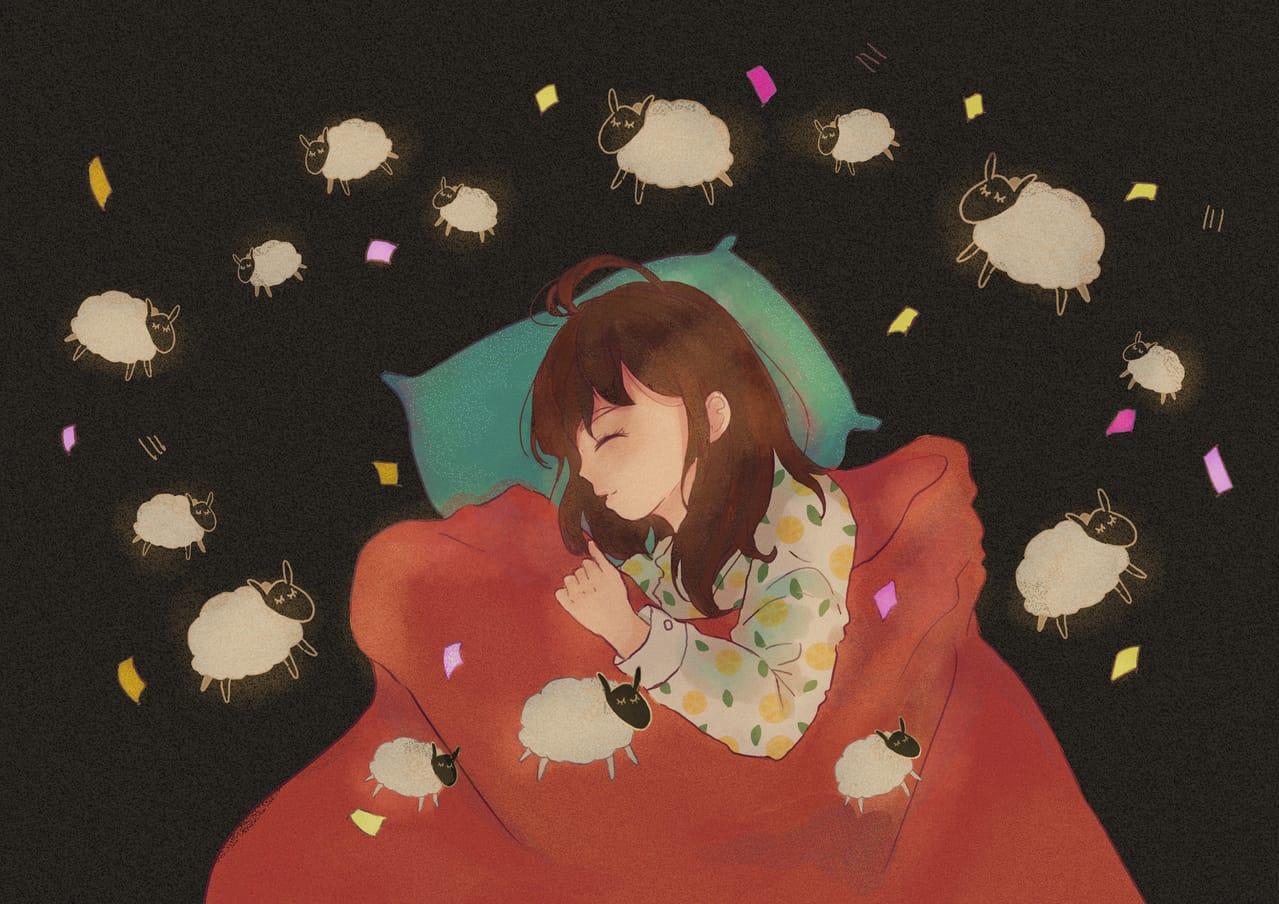 DREAM Illust of Hakurokuuu illustration Paintings painting paint 落書き女の子 doodle drawing illustrations 落描き art