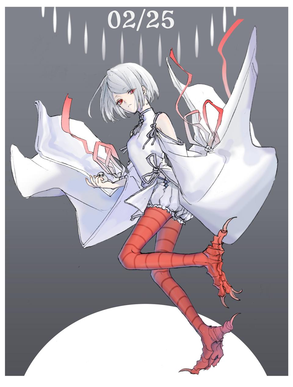20210225湯圓 Illust of Haughty Wolf January2021_Contest:OC original medibangpaint