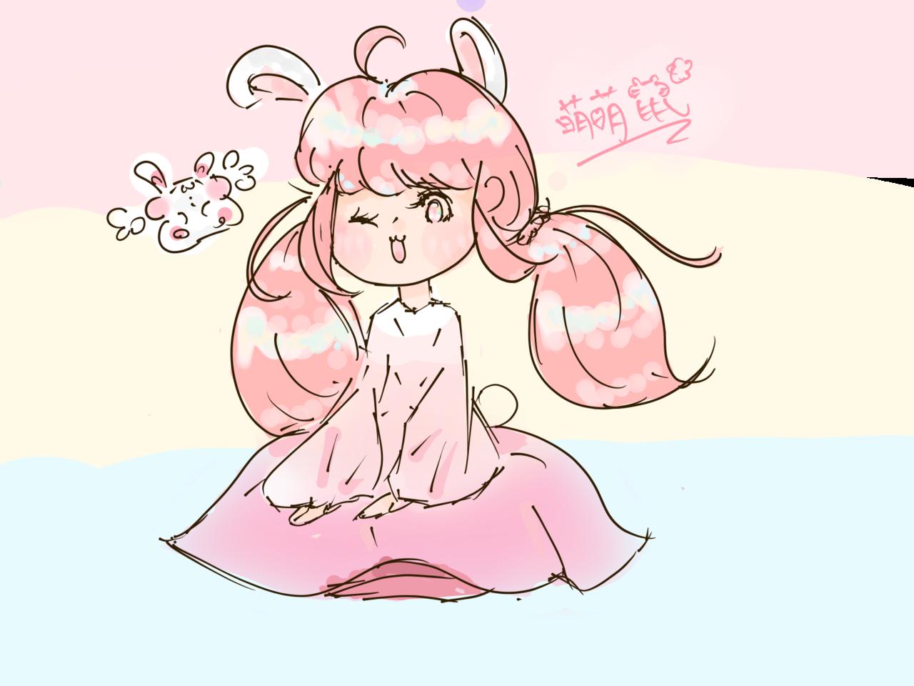 兔兔 Illust of Catt 阿貓 medibangpaint