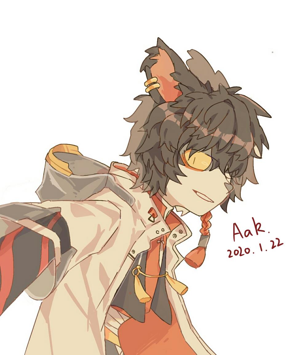 阿  [明日方舟] Illust of 沙子林 medibangpaint Arknights 阿 furry