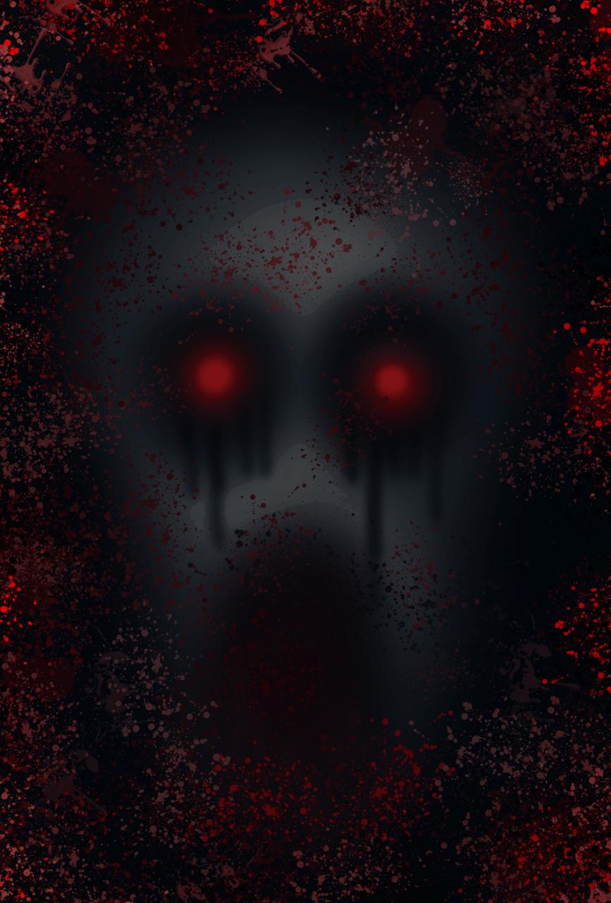 When darkness comes.... Illust of Ph@nt0m August2020_Contest:Horror medibangpaint blood dark