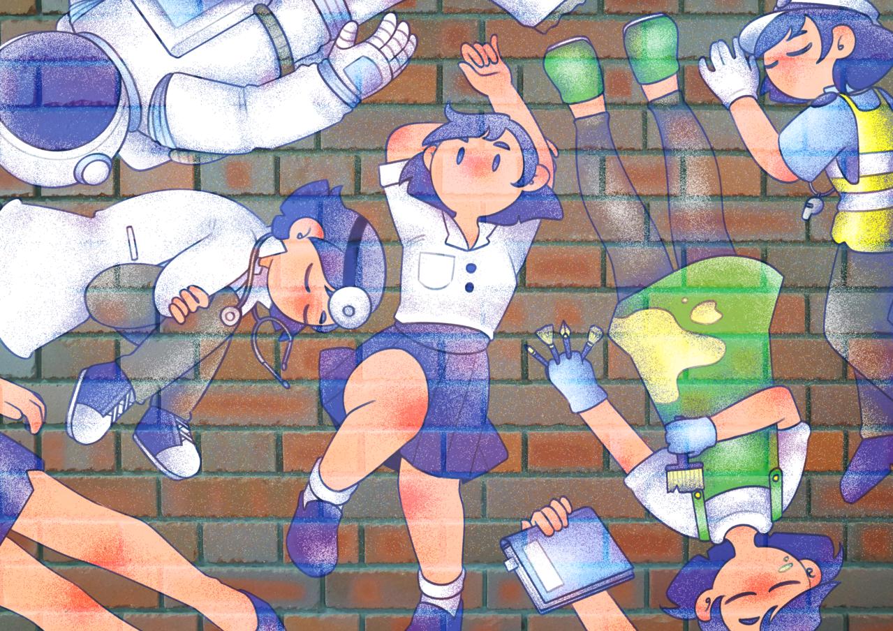 Wonder Illust of Wu Jojo June2020_Contest:Street_Art May.2020Contest:Cheering original illustration illustrations originalart doodles doodle digitalpainting practice