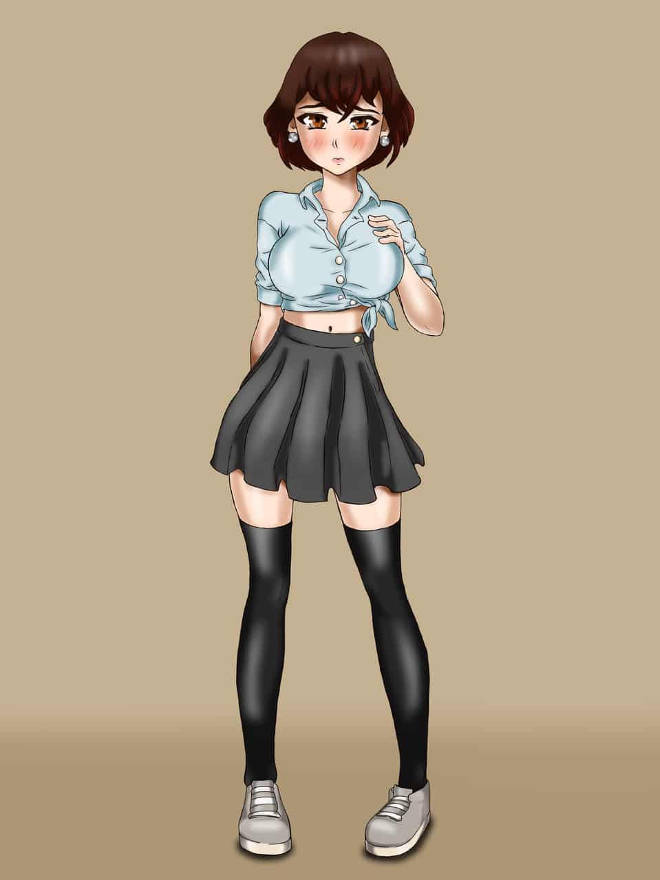 Misami San Illust of Alcides Maker Artwork MyIdealWaifu MyIdealWaifu_MyIdealHusbandoContest girl