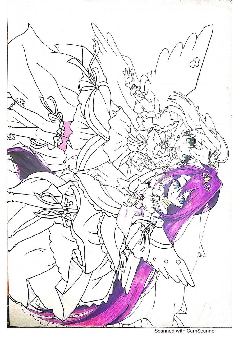 Jewel pet twinkle.  Illust of Ninestar619 AnalogDrawing animegirl anime Jewelpet analog original Jewelpettwinkle