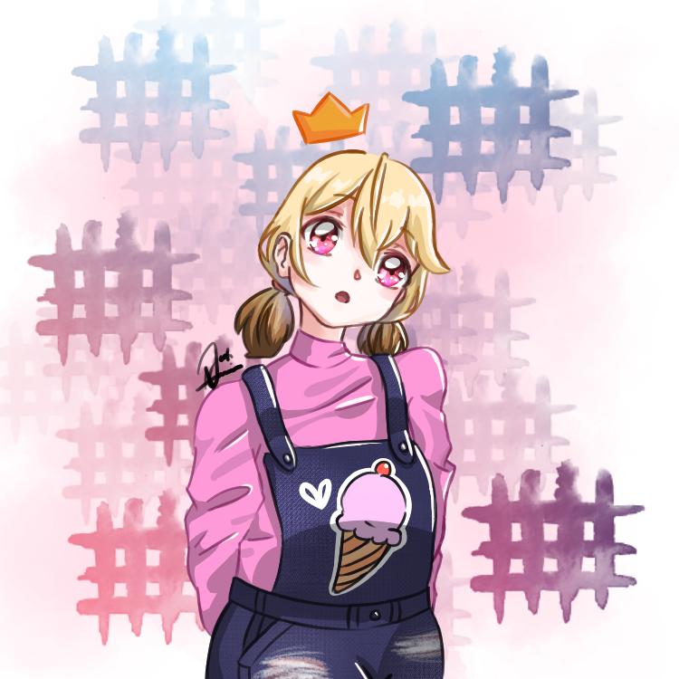 ♥QUEENiE♥ Illust of JLaine31 medibangpaint cute pink JonArtist anime jonartist cuteanime