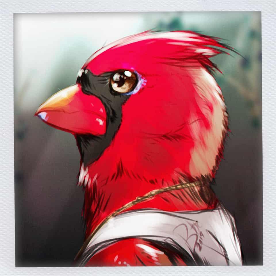 Cardinal Greens / Polaroid-Style