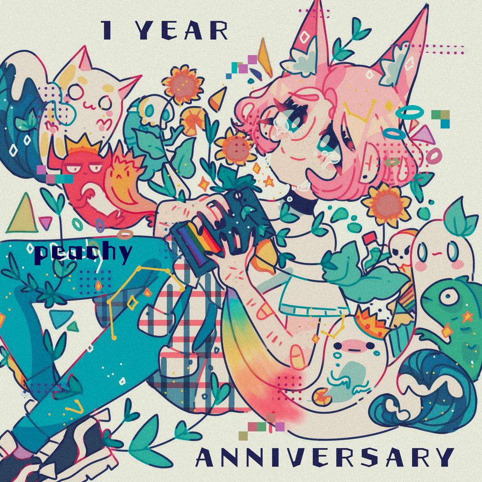 1 YEAR ANNIVERSARY🎉