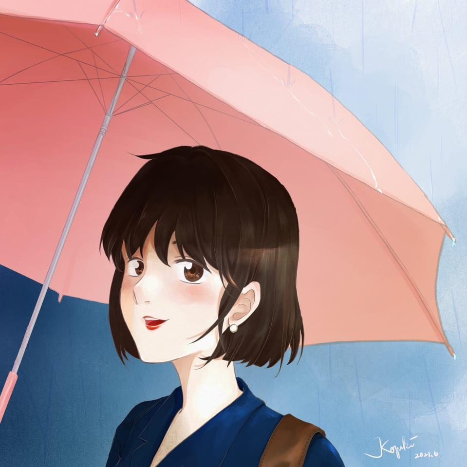 偶遇 Illust of Kozuki woman girl 原創角色 original illustration originalart