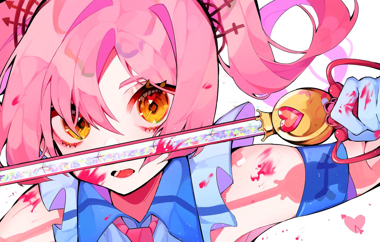💘 Illust of 김복절 medibangpaint Heartshooter pink