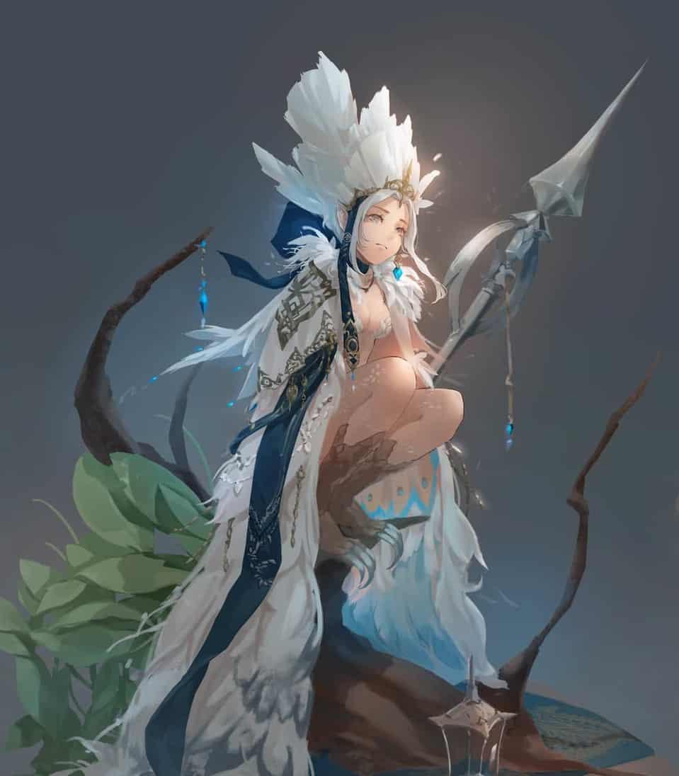 森林守衛 Illust of Peace woman 女 女性キャラ girl