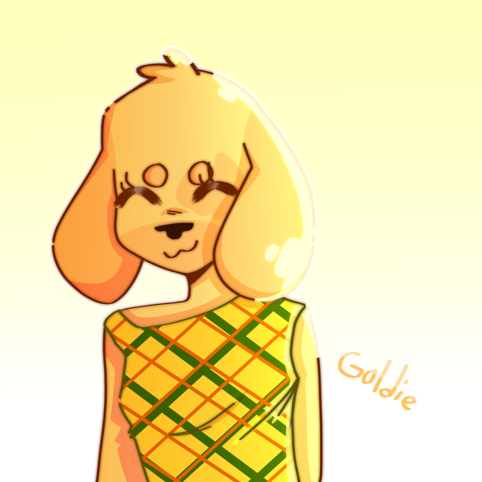 actually goldie best girl Illust of PopRocks medibangpaint