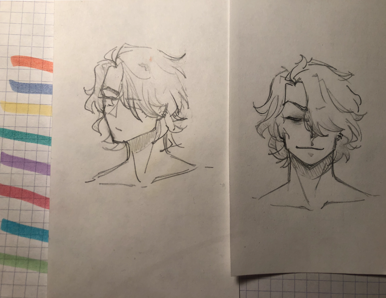 sketches of an OC of mine (prolly gonna delete) Illust of SH523 medibangpaint