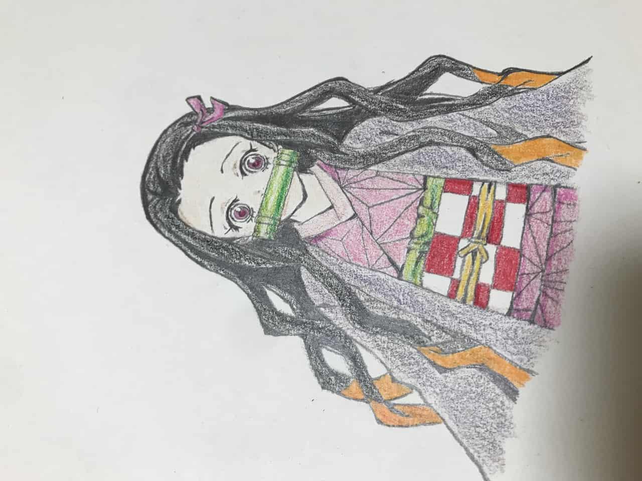 ねずこ Illust of なっちゃん KimetsunoYaiba illustration KamadoNezuko 模写