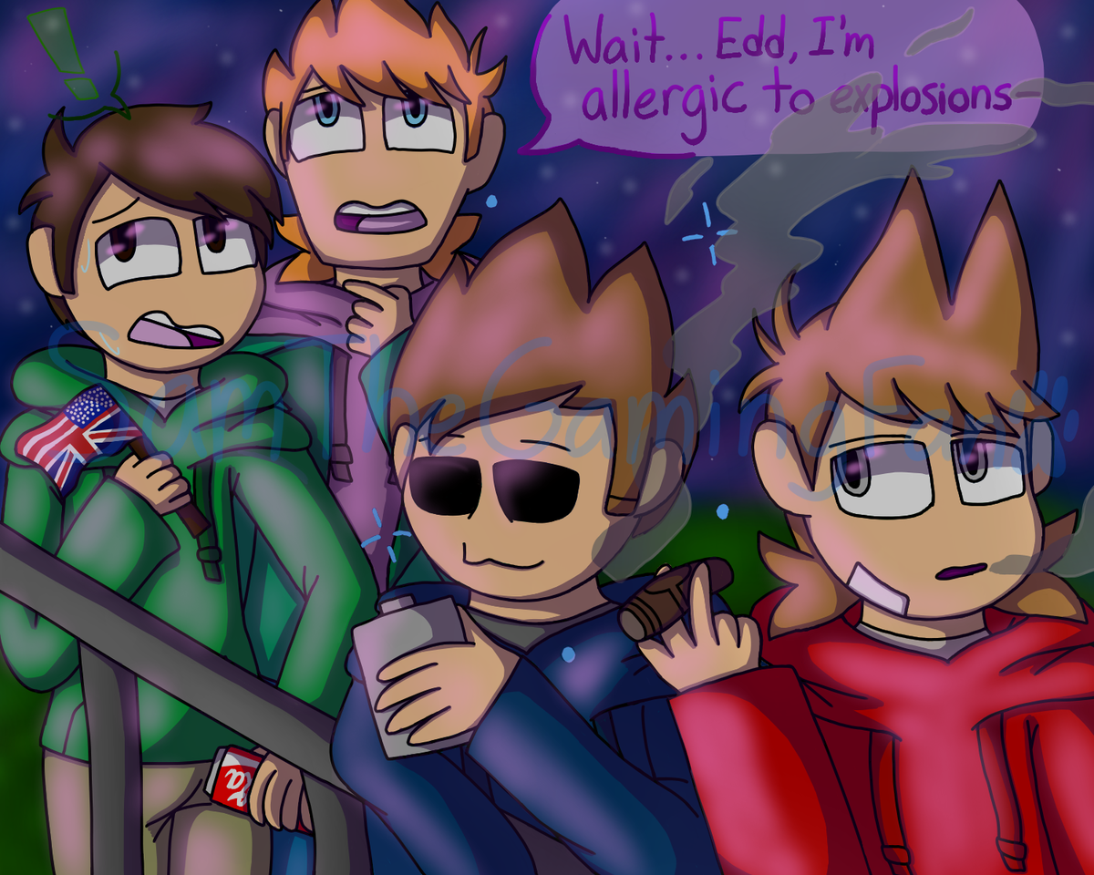Watching Fireworks With Eddsworld