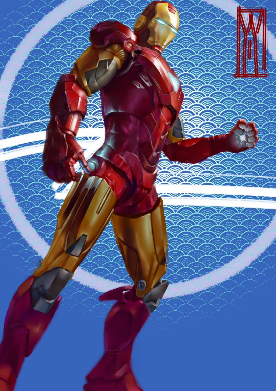 Illust of 上个号密码忘了 medibangpaint Marvel IronMan