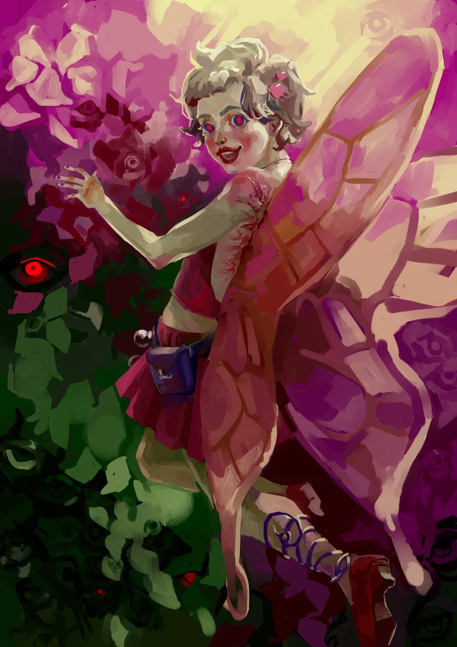 Fairy Illust of hansom_jecc February2021_Fantasy