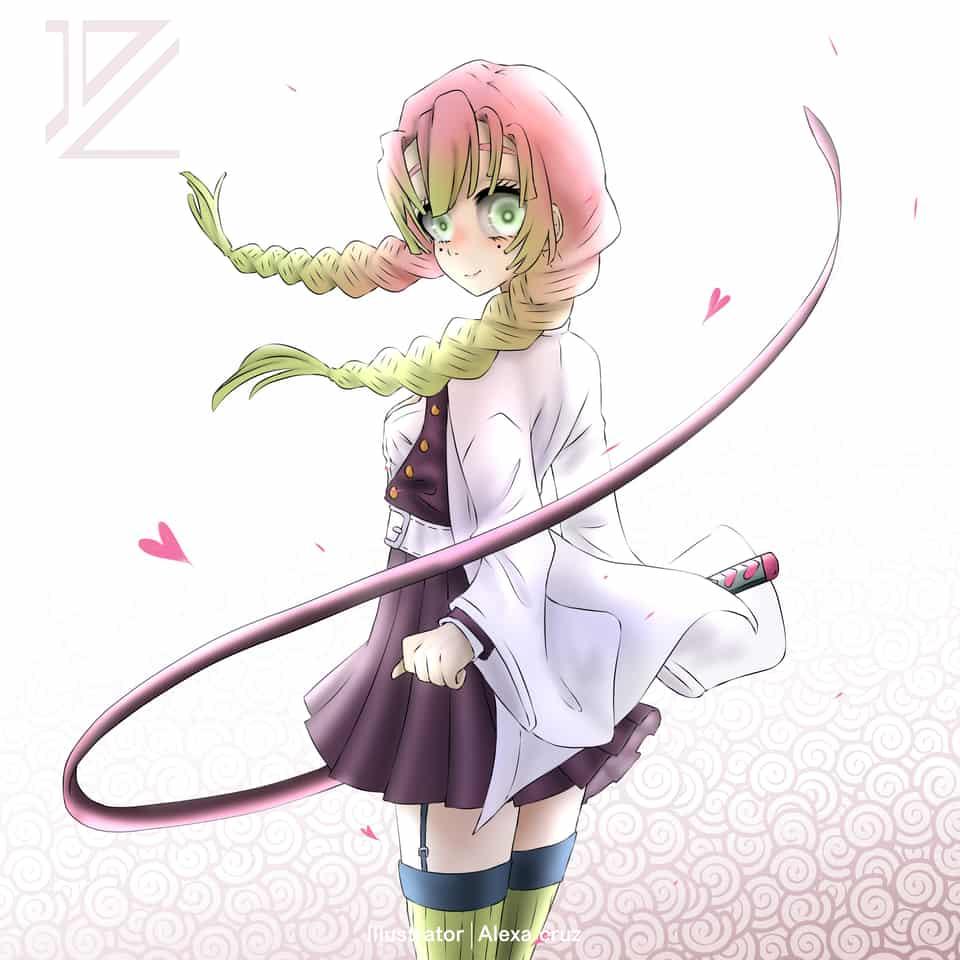 Kanroji Mitsuri Alexa Cruz Illustrations Art Street Zerochan has 639 kanroji mitsuri anime images, wallpapers, android/iphone wallpapers, fanart, cosplay pictures, and many more in its gallery. kanroji mitsuri alexa cruz